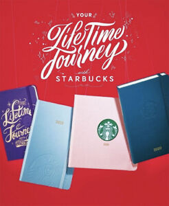 2018 Korea Starbucks With Pantone Collabo Planner Daily Weekly Book Pouch Set