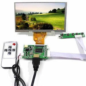 Hdmi Lcd Controller Board 6 5 800x480 At65tn14 Lcd Screeb For Raspberry Pi