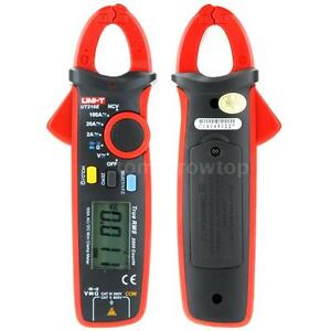 Uni t Ut210e Mini Ac dc Current Clamp Multimeter Tester Capacitance 2000 Counts