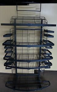 Store Display Shelving Unit Rack Adjustable Removeable Shelves
