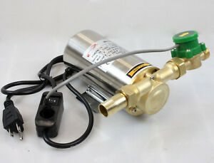 Miniature 90w Self Priming Domestic Shower Pressure Water Booster Stainless Pump