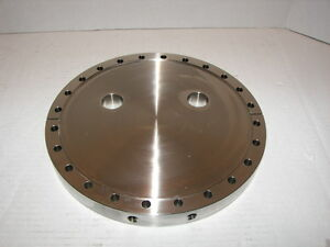 Mdc High Vacuum Reserch Chamber 10 Blank Flange Two 1 Ports A