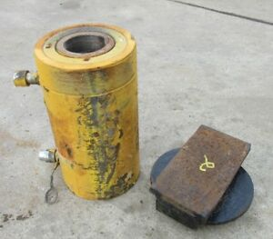 Enerpac Rr 1506 Double Acting 150 Ton 6 Stroke Hydraulic Cylinder 2 Free Ship