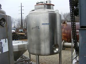 250 Gallon Mueller Jacketed Tank Jacket Rated For 85 Psi 350 F Fermenter