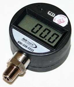 Davis Instruments Digital Pressure Gauge Model Pg2000 200 0 psi