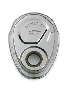Proform 141 215 Chrome Steel Timing Chain Cover Small Block Chevy