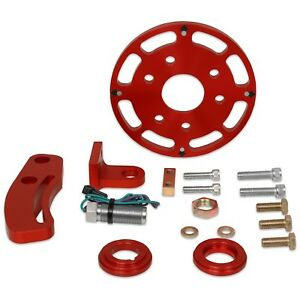 Msd Ignition 8600 Small Block Chevy Crank Trigger Kit 6 25 Wheel