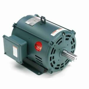 140470 00 7 1 2 Hp 1765 Rpm New Leeson Electric Motor 140470