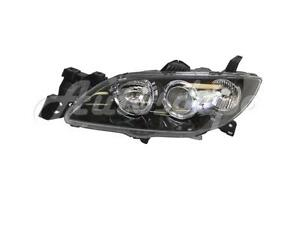 New Hid Type Headlight Headlamp Lh Ma2518113 For 2004 2006 Mazda 3 Sedan