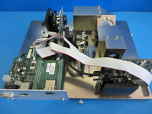 Esi Laserbeam Assy W Stac Reflected Pulse Pcb s Optics From Esi Uv9835 System