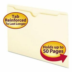 Smead File Jackets With Double ply Top Legal 100 Per Box smd76500