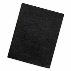 Fellowes Executive Presentation Binding Covers Black 200 Per Pack fel52149