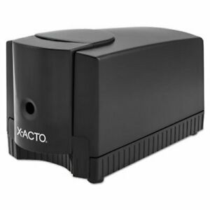 X acto Deluxe Heavy duty Desktop Electric Pencil Sharpener Black gray epi1645