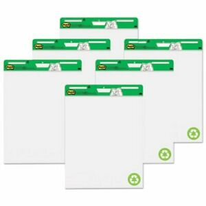Post it Self stick Easel Pads 25 X 30 White 6 30 sheet Pads ct mmm559rpvad6