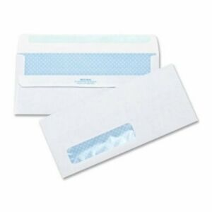 Business Self seal Envelopes Tint window 4 1 2 x9 1 2 500 Per Box bsn42207