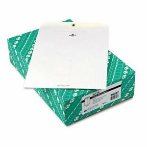 Quality Park Clasp Envelope 10 X 13 28lb White 100 box qua38397