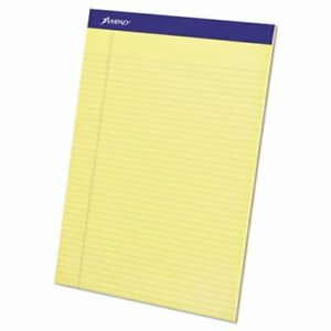 Ampad Evidence Perforated Top Narrow Rule 50 sheet Pads Dozen top20222