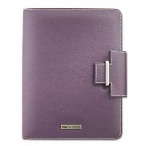 Day Runner Terramo Refillable Planner 5 1 2 X 8 1 2 Eggplant drn4010214
