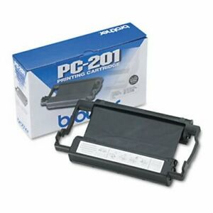 Brother Pc201 Thermal Transfer Print Cartridge Black brtpc201