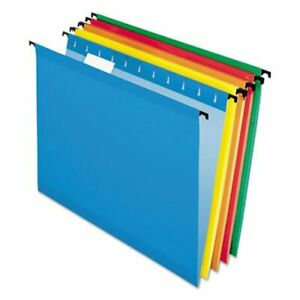 Pendaflex Surehook Hanging File Folders Legal Assorted 20 box pfx615315asst