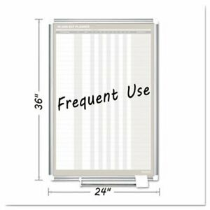 Mastervision Magnetic Dry Erase Board 24x36 Silver Frame bvcga02109830
