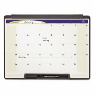 Quartet Motion Portable Monthly Calendar Dry Erase 24 X 18 qrtmmc25