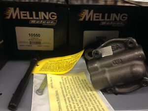Melling Select 10550 Chevy Oil Pump Performance Sbc Racing 350 Small Block