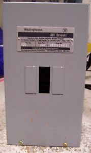 New Westinghouse 100 Amp Abi Circuit Breaker Enclosure Sqc
