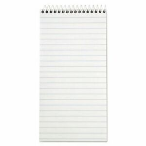 Tops Reporter Notebook 4 X 8 White 12 70 sheet Pads pack top8030