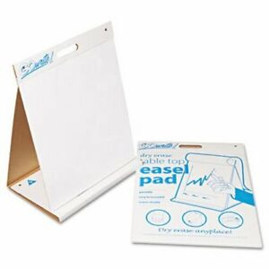 Pacon Dry Erase Table Top Easel Pad 20 X 23 4 10 sheet Pads pactep2023