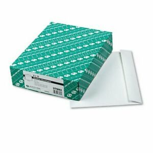Quality Park Booklet Envelope Contemporary 12 X 9 White 100 box qua37693