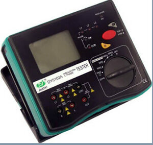 Dy5102a Digital Insulation 3 Phase Tester Meter Dy 5102a