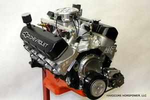 496ci Big Block Chevy Pro Street Engine Efi 600hp Built To Order Dyno Tuned