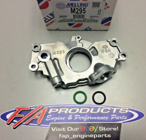 Melling M295 Oil Pump 4 8l 5 3l 6 0l Chevrolet Ls Engines Free 2 Day Shipping