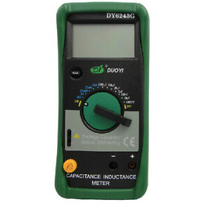 Dy6243g Digital Capacitance Meter Inductance Meter Lcr Meter Dy 6243g