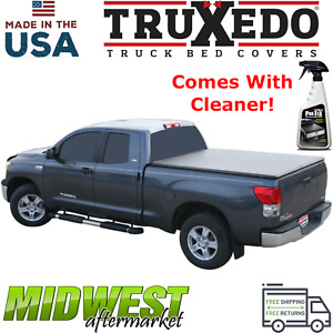 Truxedo Truxport Soft Roll Up Tonneau Cover 2007 2013 Toyota Tundra 5 6 Bed