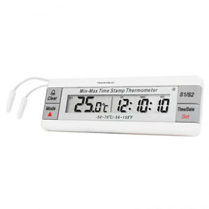 Dual Thermometer With Waterproof Probes 1 Ea