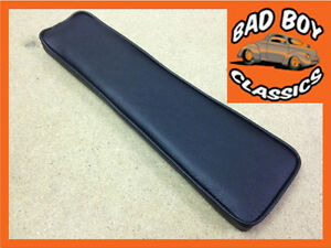 Mgb Armrest Pad For Centre Console Black Black Piping