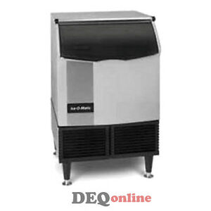 Ice o matic Iceu220ha Air Cooled 238 Lb 24 Hour Undercounter Cube Ice Maker