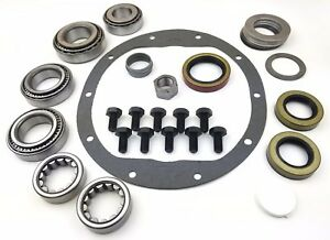 8 5 Chevy 10 bolt Master Bearing Kit Rear 72 98 Car With Axle Bearings Seals