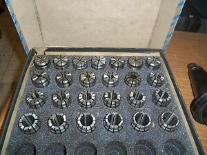 Hardinge Collets Various Sizes Or Sold As A Set Minor Usage