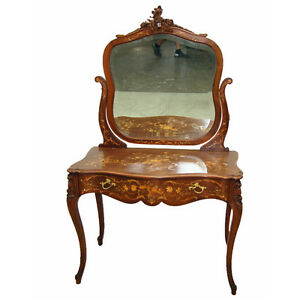 Rj Horner Inlaid Dressing Table Vanity 7772