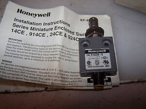 New Honeywell Micro Switch Miniature Enclosued Limit Switch 914ce28 q