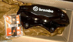 Range Rover L322 2006 2009 Supercharged Left Right Brembo Calipers Gloss Black