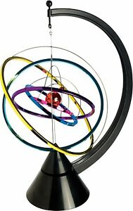 Galaxy Kinetic Art Science Kit Decor Desktop Shelf Executive Desk Toy Table New