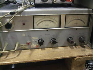 Hp 8405a Vector Voltmeter W Two Probes Attached