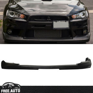 Mitsubishi Lancer Fits 08 15 Evoluation X Oe Style Jdm Front Bumper Lip Kit Pu