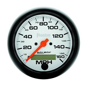 Autometer 5888 Phantom In dash Electric 0 160mph Speedometer 3 3 8
