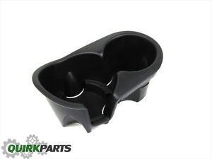 02 04 Jeep Liberty Floor Console Cup Holder Oem New Mopar Part 5072903aa