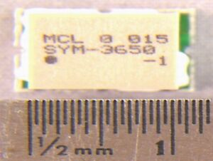 6 Mini circuits Sym3650 1 Frequency Mixers Smt Ics